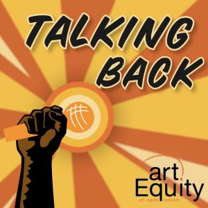 "Logo for ""Talking Back"" web series"