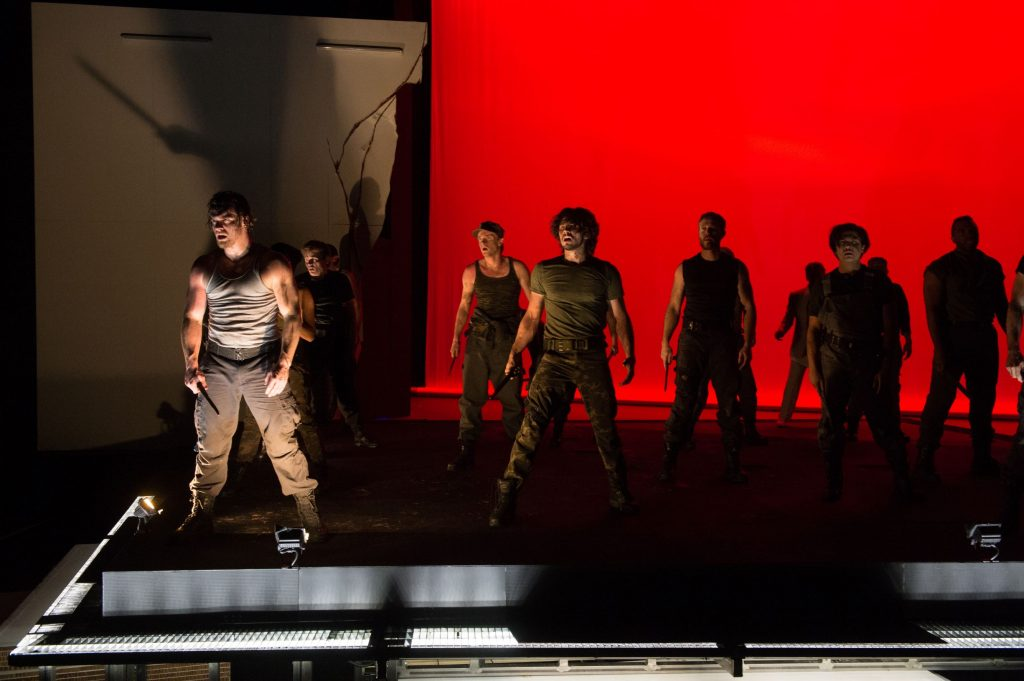 A scene from the OSF production of Julius Caesar